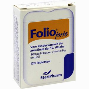 Abbildung von Folio Forte + B12 Tabletten 120 Stück