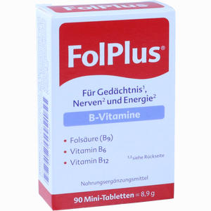 Abbildung von Folplus Mini- Tabletten  90 Stück