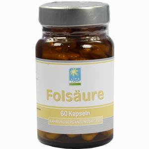 Abbildung von Folsäure 1 Mg Kapseln 60 Stück