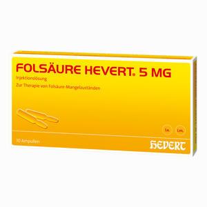 Abbildung von Folsäure Hevert 5mg Ampullen 10 Stück