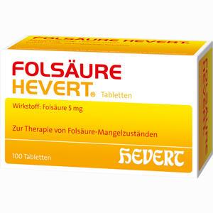Abbildung von Folsäure Hevert Tabletten 100 Stück