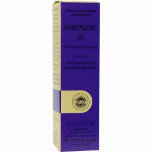 Abbildung von Fomepikehl D5 Tropfen 10 ml