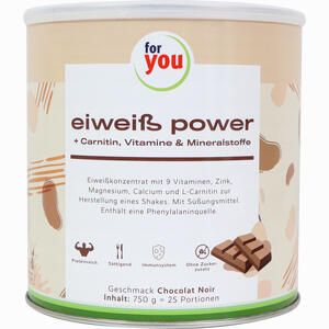 Abbildung von For You Eiweiß Power Schoko Pulver  750 g