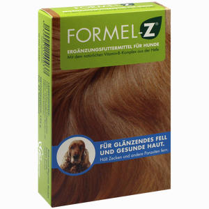 Abbildung von Formel Z für Hunde Tabletten 125 g
