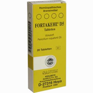 Abbildung von Fortakehl D5 Tabletten 20 Stück