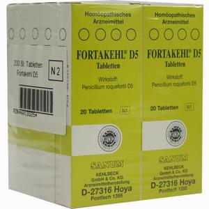 Abbildung von Fortakehl D5 Tabletten 200 Stück