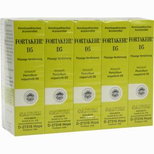 Abbildung von Fortakehl D5 Tropfen 100 ml