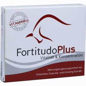 Abbildung von Fortitudo Plus Tabletten 30 Stück