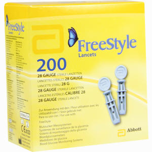 Abbildung von Freestyle Lancets Lanzetten 200 Stück