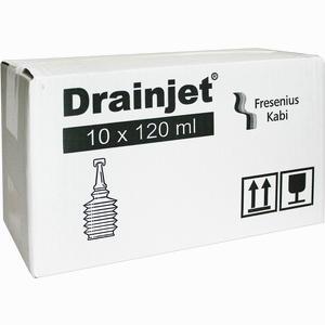Abbildung von Freka Drainjet Kochsalzlösung 0.9% Iso  10 x 120 ml