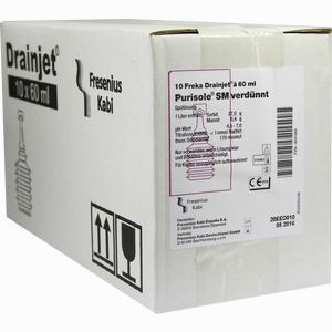 Abbildung von Freka Drainjet Purisole Sm Verdünnt Spüllösung  10 x 60 ml