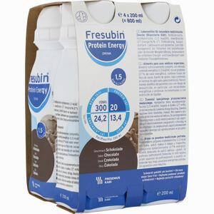 Abbildung von Fresubin Protein Energy Drink Schokolade Trinkflaschen  4 x 200 ml