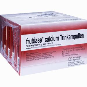 Abbildung von Frubiase Calcium T Trinkampullen 5 x 20 Stück