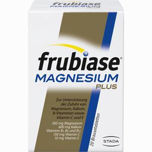 Abbildung von Frubiase Magnesium Plus Brausetabletten 20 Stück