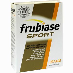 Abbildung von Frubiase Sport Brausetabletten 20 Stück