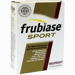 Abbildung von Frubiase Sport Waldfrucht Brausetabletten 20 Stück