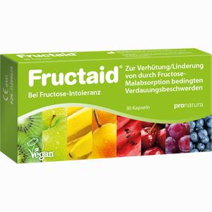 Abbildung von Fructaid Kapseln bei Fruktose- Intoleranz 30 Stück
