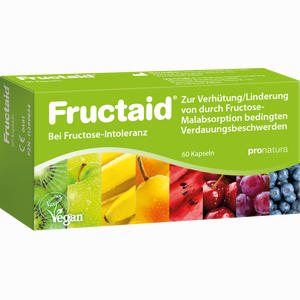 Abbildung von Fructaid Kapseln bei Fruktose- Intoleranz 60 Stück