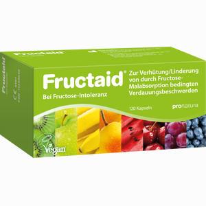 Abbildung von Fructaid Kapseln bei Fruktose- Intoleranz 120 Stück