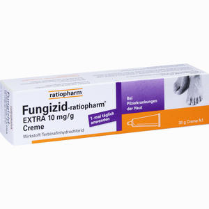 Abbildung von Fungizid- Ratiopharm Extra Creme 30 g