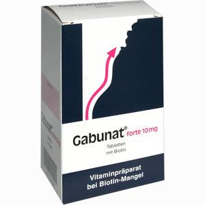Abbildung von Gabunat Forte 10mg Tabletten 90 Stück