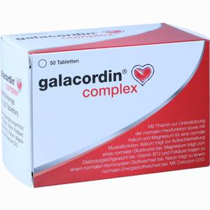 Abbildung von Galacordin Complex Tabletten 50 Stück