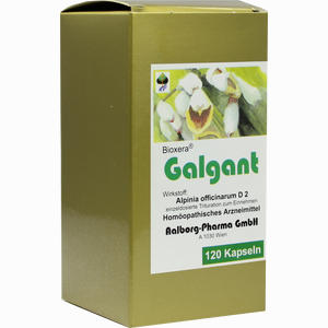 Abbildung von Galgant Kapseln 120 Stück