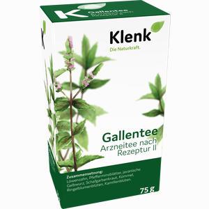 Abbildung von Gallentee Ll Arznei- Tee 75 g