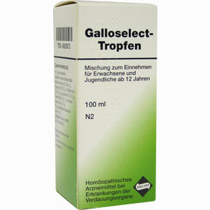 Abbildung von Galloselect- Tropfen  100 ml
