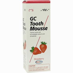 Abbildung von Gc Tooth Mousse Erdbeere Zahncreme  40 g