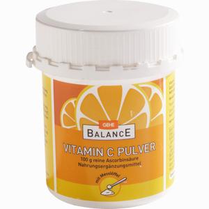 Abbildung von Gehe Balance Ascorbinsäure Pulver 100 g