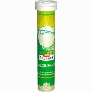 Abbildung von Gehe Balance Calcium + D3 Brtbl. Röhrchen Brausetabletten 20 Stück