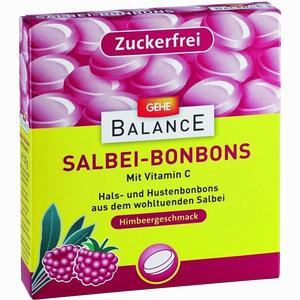 Abbildung von Gehe Balance Salbeibonbons zuckerfrei Himbeer- Geschmack Bon  37 g