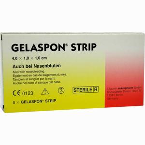 Abbildung von Gelaspon Strip 4x1x1 Cm Streifen 5 Stück