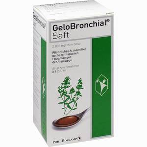Abbildung von Gelobronchial Saft  200 ml