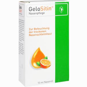 Abbildung von Gelositin Nasenpflege Spray 15 ml