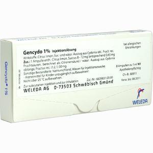 Abbildung von Gencydo 1% Ampullen 8 Stück