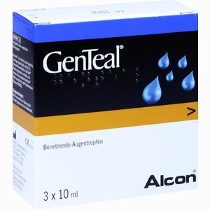 Abbildung von Genteal Augentropfen 3 x 10 ml