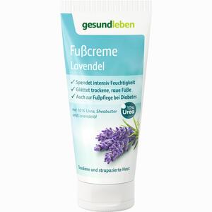 Abbildung von Gesund Leben Fußcreme Lavendel  100 ml