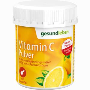 Abbildung von Gesund Leben Vitamin C Pulver  100 g