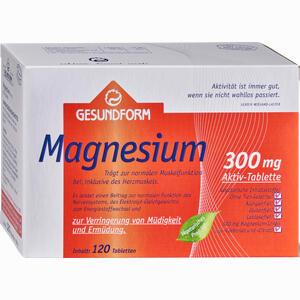 Abbildung von Gesundform Magnesium 300 Filmtabletten 120 Stück