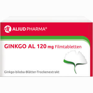 Abbildung von Ginkgo Al 120 Mg Filmtabletten  120 Stück