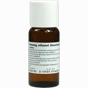 Abbildung von Ginseng äth. Dec. D1 Dilution 50 ml