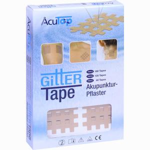 Abbildung von Gitter Tape Acutop 3x4cm Pflaster 20 x 6 Stück