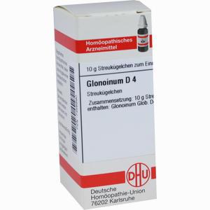 Abbildung von Glonoinum D4 Globuli 10 g