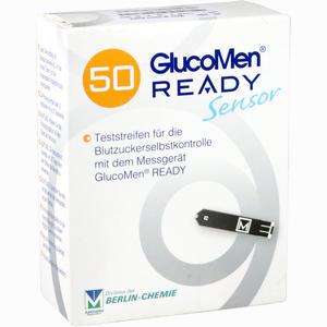 Abbildung von Glucomen Ready Sensor Teststreifen 50 Stück