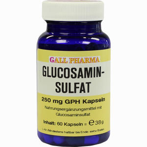 Abbildung von Glucosaminsulfat Kapseln 250mg  60 Stück
