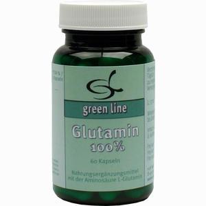 Abbildung von Glutamin 100% Kapseln 60 Stück