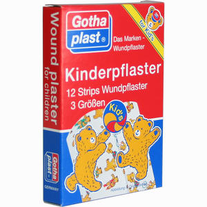 Abbildung von Gothaplast Kinderpflaster Strips  12 Stück