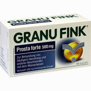 Abbildung von Granu Fink Prosta Forte 500 Mg Hartkapseln 40 Stück